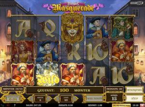 Royal Masquerade slotmaskinen SS-06