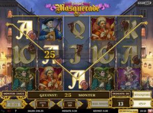 Royal Masquerade slotmaskinen SS-07