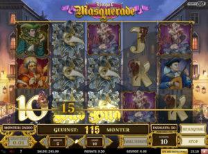 Royal Masquerade slotmaskinen SS-08