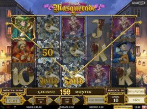 Royal Masquerade slotmaskinen SS-09