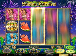 Samba Carnival slotmaskinen SS-02