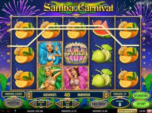 Samba Carnival slotmaskinen SS-07