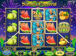 Samba Carnival slotmaskinen SS-08