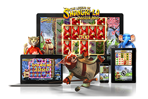The Legend Of Shangri-La spil på mobil og tablet