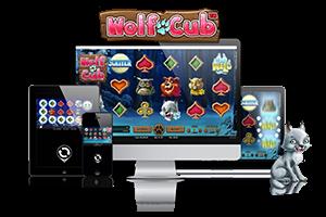 Wolf Cub spil på mobil og tablet
