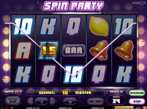 Spin Party slotmaskinen SS-07