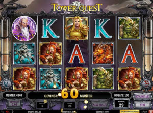 Tower Quest slotmaskinen SS-03