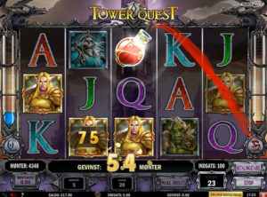 Tower Quest slotmaskinen SS-06