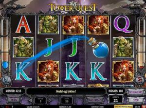 Tower Quest slotmaskinen SS-07