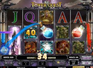 Tower Quest slotmaskinen SS-08