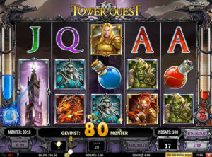 Tower Quest slotmaskinen SS-09