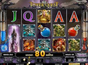 Tower Quest slotmaskinen SS-09