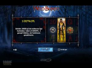 Wild Blood slotmaskinen SS-02