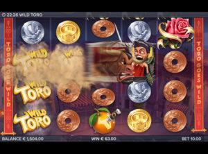 Wild Toro slotmaskinen SS-02