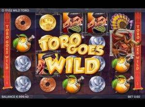 Wild Toro slotmaskinen SS-03