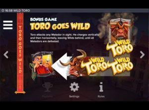 Wild Toro slotmaskinen SS-05