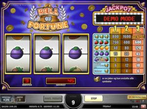 Bell Of Fortune slotmaskinnen SS-07