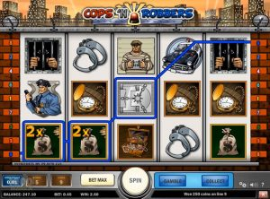 Cops n Robbers slotmaskinen SS-03