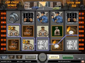 Cops n Robbers slotmaskinen SS-09