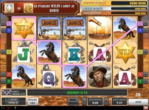 Cowboy Treasure slotmaskinen SS-06