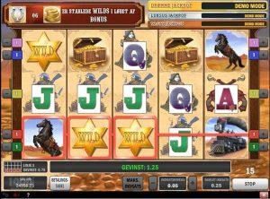 Cowboy Treasure slotmaskinen SS-09