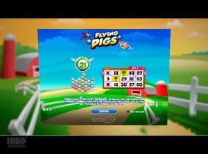Flying Pigs slotmaskinen SS-01