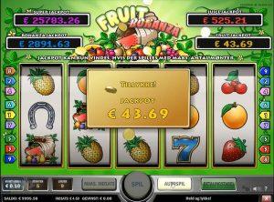 Fruit Bonanza slotmaskinen SS-02
