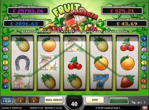 Fruit Bonanza slotmaskinen SS-04
