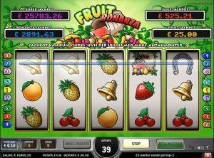 Fruit Bonanza slotmaskinen SS-05