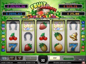 Fruit Bonanza slotmaskinen SS-08