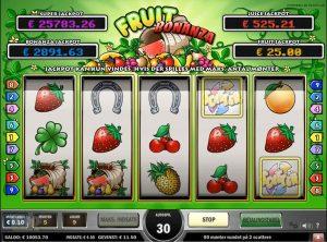 Fruit Bonanza slotmaskinen SS-09