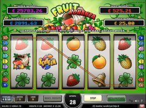 Fruit Bonanza slotmaskinen SS-10