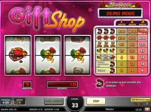 Gift Shop slotmaskinen SS-06