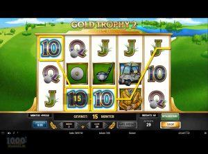 Gold Trophy 2 slotmaskinen SS-07