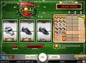 Golden Goal slotmaskinen SS-01