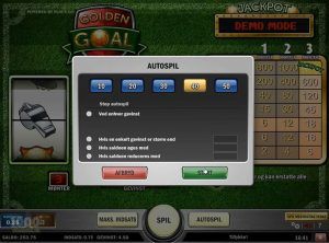 Golden Goal slotmaskinen SS-02