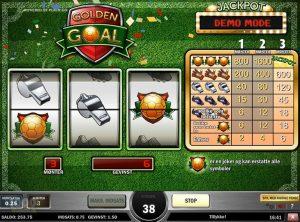 Golden Goal slotmaskinen SS-04