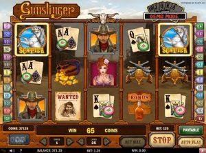 Gunslinger slotmaskinen SS-02