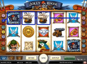 Jolly Roger slotmakinen SS-02