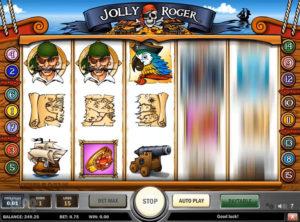 Jolly Roger slotmakinen SS-03