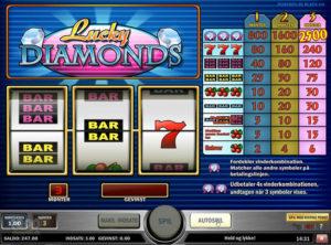 Lucky Diamonds slotmaskinen SS-01