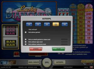 Lucky Diamonds slotmaskinen SS-02