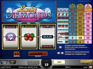 Lucky Diamonds slotmaskinen SS-03