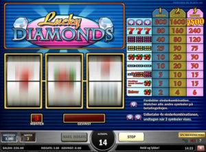 Lucky Diamonds slotmaskinen SS-05