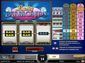 Lucky Diamonds slotmaskinen SS-06