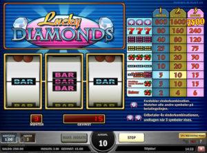 Lucky Diamonds slotmaskinen SS-07