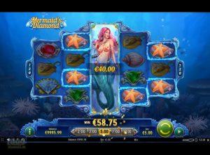 Mermaid's Diamond slotmaskinen SS-02
