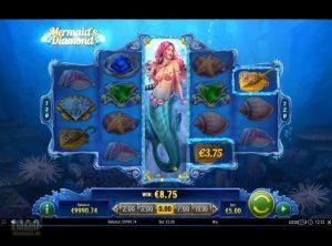 Mermaid's Diamond slotmaskinen SS-03