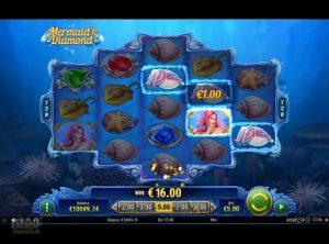 Mermaid's Diamond slotmaskinen SS-04