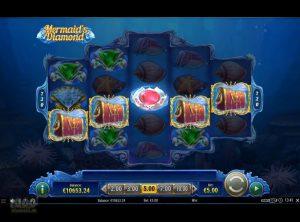 Mermaid's Diamond slotmaskinen SS-05